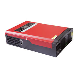 China LCD zeigen silbernen Solarenergie-Inverter, Sinus-Wellen-Inverter 48V 5000W reinen an distributeur